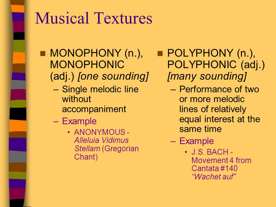 Elements of Music (continued) - ppt video online download